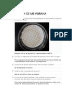 Filtracion de Membrana