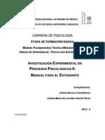 Manual_Prácticas_Psicología Experimental II