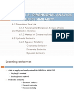 Slides 6 Dimensional Analysis and Hydraulic Similarity