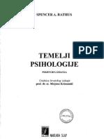 Temelji Psihologije Spencer a. Rathus
