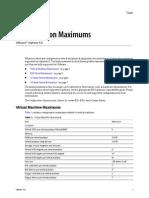 Configuration Maximums VMware vSphere 4.0