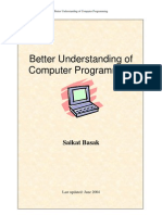 Better Understanding of Computer Programming