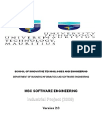 MSCSE Project Handbookv2.0 - 2009