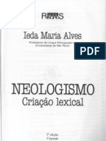 ALVES, Ieda Maria - Neologismo