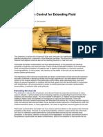 Contamination Control for Extending Fluid Service Life