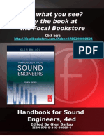 Handbook for Sound Engineers Sample