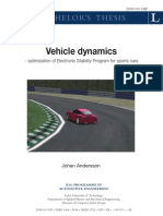 Vehicle Dynamics Thesis