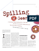 Spilling the Gears [PIQUE]