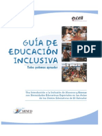 GUÍA DE EDUCACIÓN INCLUSIVA