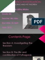 Mathematics Investigation