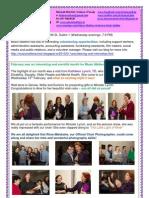 Music Matters Inclusive Choir - Newsletter March 2013