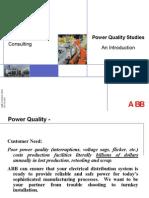 ABB -Power Qualilty Studies - Presentation