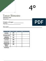 4to Grado - Bimestre 3.doc