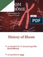O'Toole Grace 11100387 Bloom Syndrome