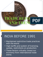 Trade Reforms and Trends