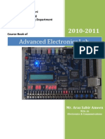 Advanced Electronics Lab-Course Book