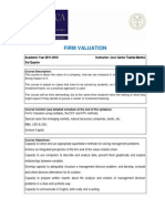 Firm Valuation 2