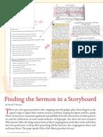 Finding the Sermon
