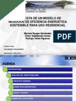 PRESENTACION Tesis U centrasl M Rueger - V Valdebenito - R Yañez  DIC 2012.