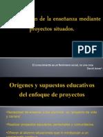 La conducción de la enseñanza mediante proyectos situados.ppt