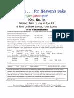 Fcc Run.2013.Entry Form