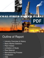 Coal-Fired Power Plant ppt