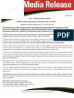 ETU QLD Media Release - Costello Audit.