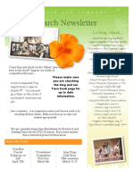 March Newsletter Dynamites and Company