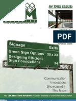 CAM Magazine October 2008 – Metals/Steel, Signage