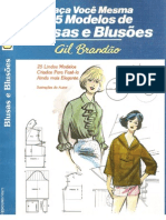 Spanish Booklet with Blouse and Shirt Patterns in it