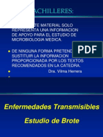 Enfermedades Transmisibles 1a. Clase