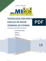 Circulo de Mohr Teorema de Steiner