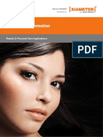Formulation Information_Beauty and Personal Care Applications