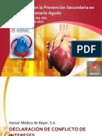 Prevencion secundaria del sindrome coronario agudo