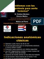 Problemas endoprotesis aorta toracica