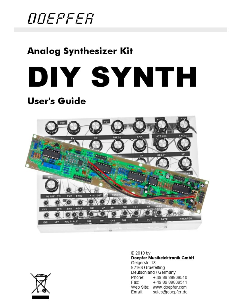 Diy Synth Manual Synthesizer Electrical Connector Idctheremin Schematic Diagram