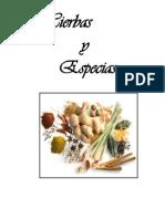 Hierbas y Especies