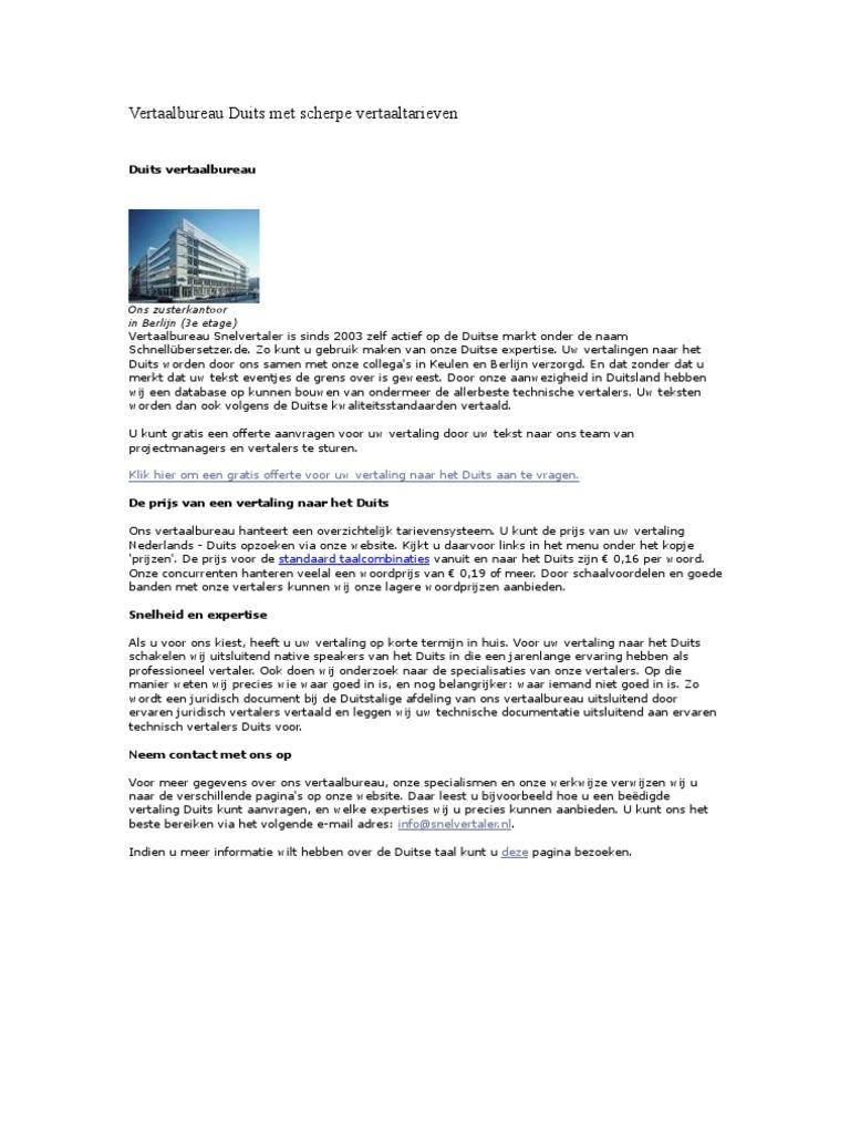 vertalen tekst engels nederlands gratis