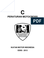PERATURAN NASIONAL IMI - MOTOCROSS 2013