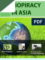 BIOPIRACY IN ASIA