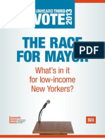 The Race for Mayor