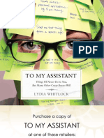 125541471 to My Assistant by Lydia Whitlock Excerpt