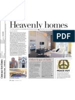 Chicago Sun-Times Splash Magazine Real Estate - Heavenly Homes (12.09.12)