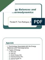 Energy Balance and Thermo Presentation