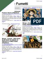 Manga e Fumetti