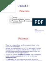 Unidad II Procesos