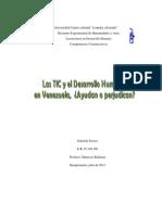 Las TIC y El Desarrollo Humano