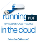 Running a Msp in the Cloud