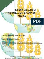 Presentacion Politica Alimentaria ALEX