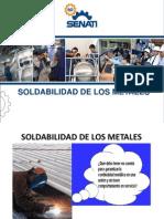 Soldabilidad de Los Metales